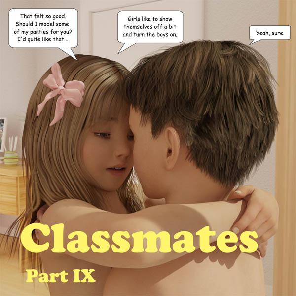 [jm600r] Classmates. Part 1-10 (comic, eng)