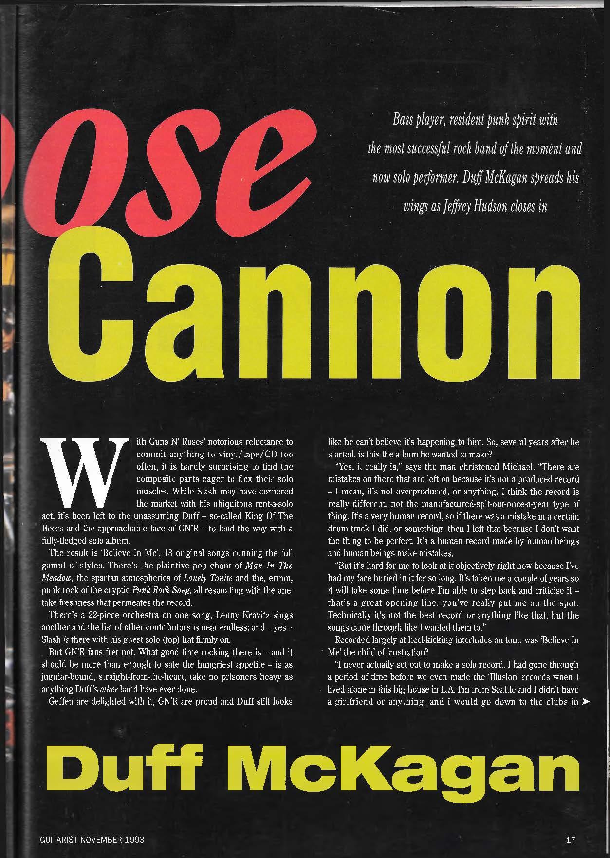 1993.11.DD - Guitarist Magazine - Loose Cannon (Duff) WNKhq75E_o