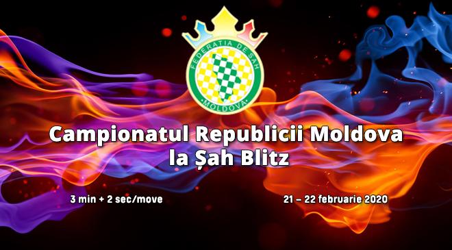 Campionatul Republicii Moldova la Șah Blitz 2020