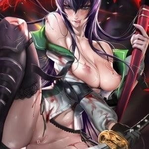 Highschool of the dead girls naked-6735