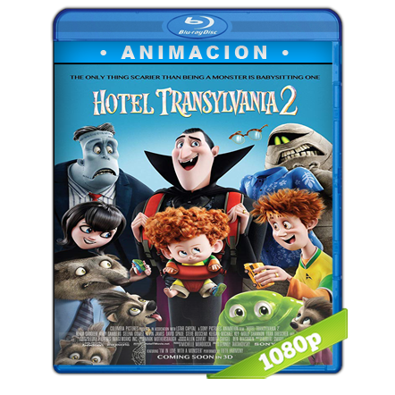 Hotel Transylvania 2 Full HD1080p Audio Trial Latino-Castellano-Ingles 5.1 2015