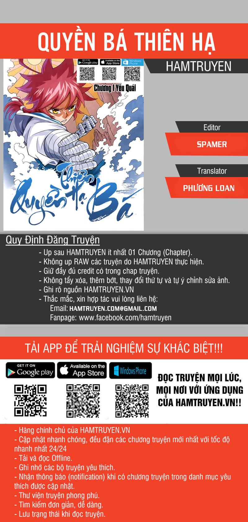 Quyền Bá Thiên Hạ Chapter 40