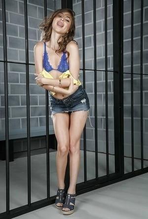 Nude skinny brunettes-4171