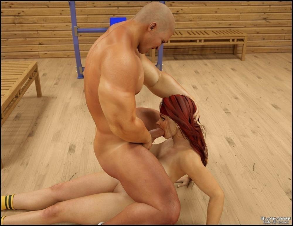 Pornhub in the gym-2998