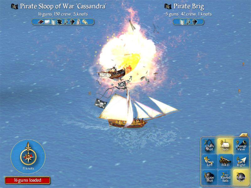 Sid Meier's Pirates! Captura 2