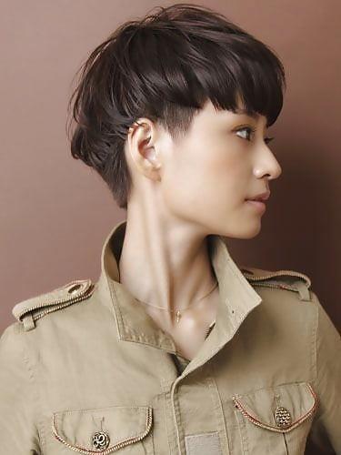 Best hair style for short hair girl-5706