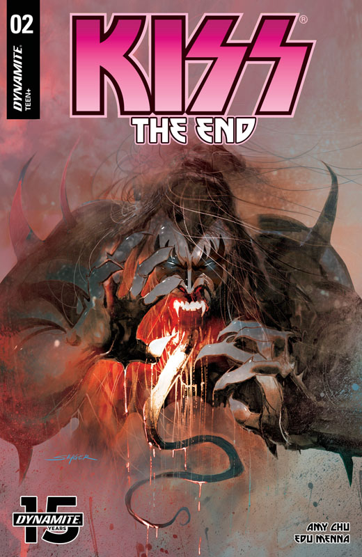 KISS - The End #1-5 (2019) Complete