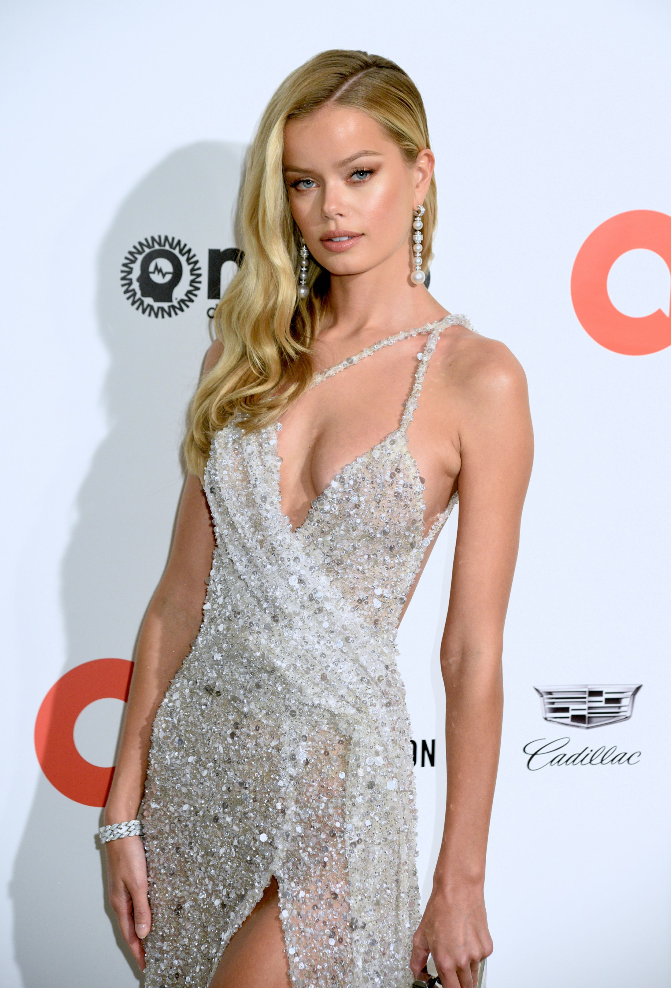 Frida Aasen – Elton John AIDS Foundation Oscars Viewing Party in West Hollywood – 2/9/20