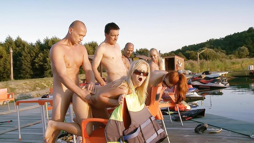 Group sex outdoor-1885