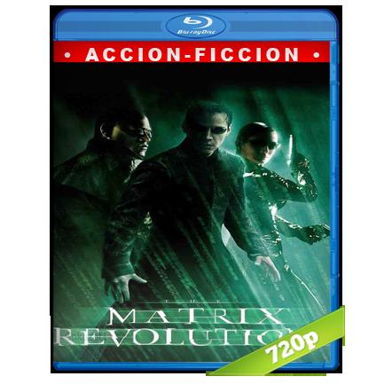 descargar Matrix 3 Revoluciones 720p Lat-Cast-Ing 5.1 (2003) gratis