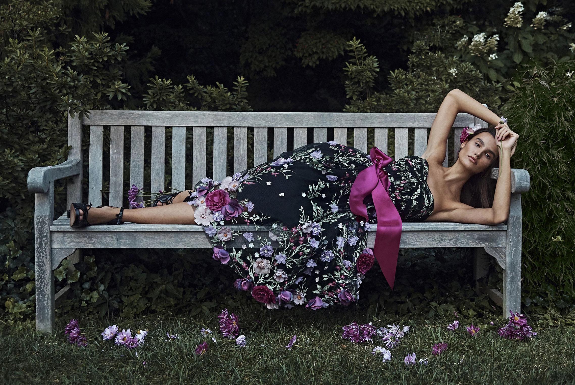 Коллекция модной одежды Marchesa, сезон весна-лето 2020 / фото 15