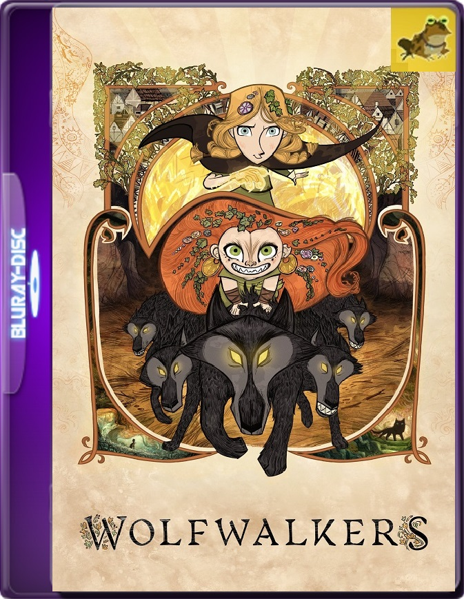Wolfwalkers: Espíritu De Lobo (2020) WEB-DL 1080p (60 FPS) Latino / Inglés