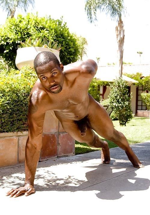 Black men naked penis-8750