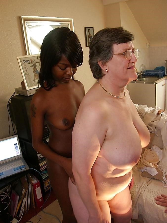 Old white guy young black girl-2447