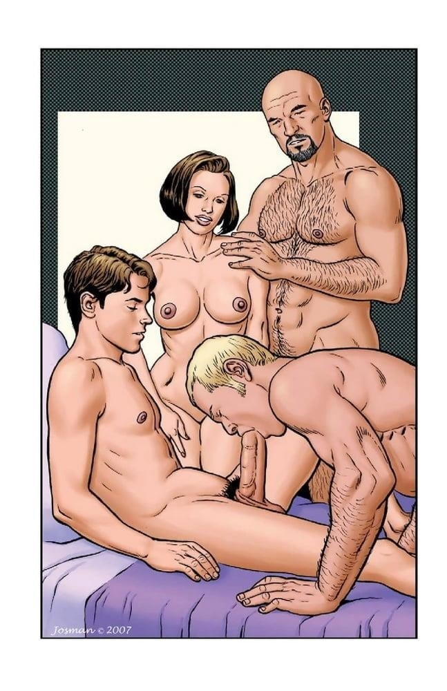 Dad son gay cartoon porn-1225