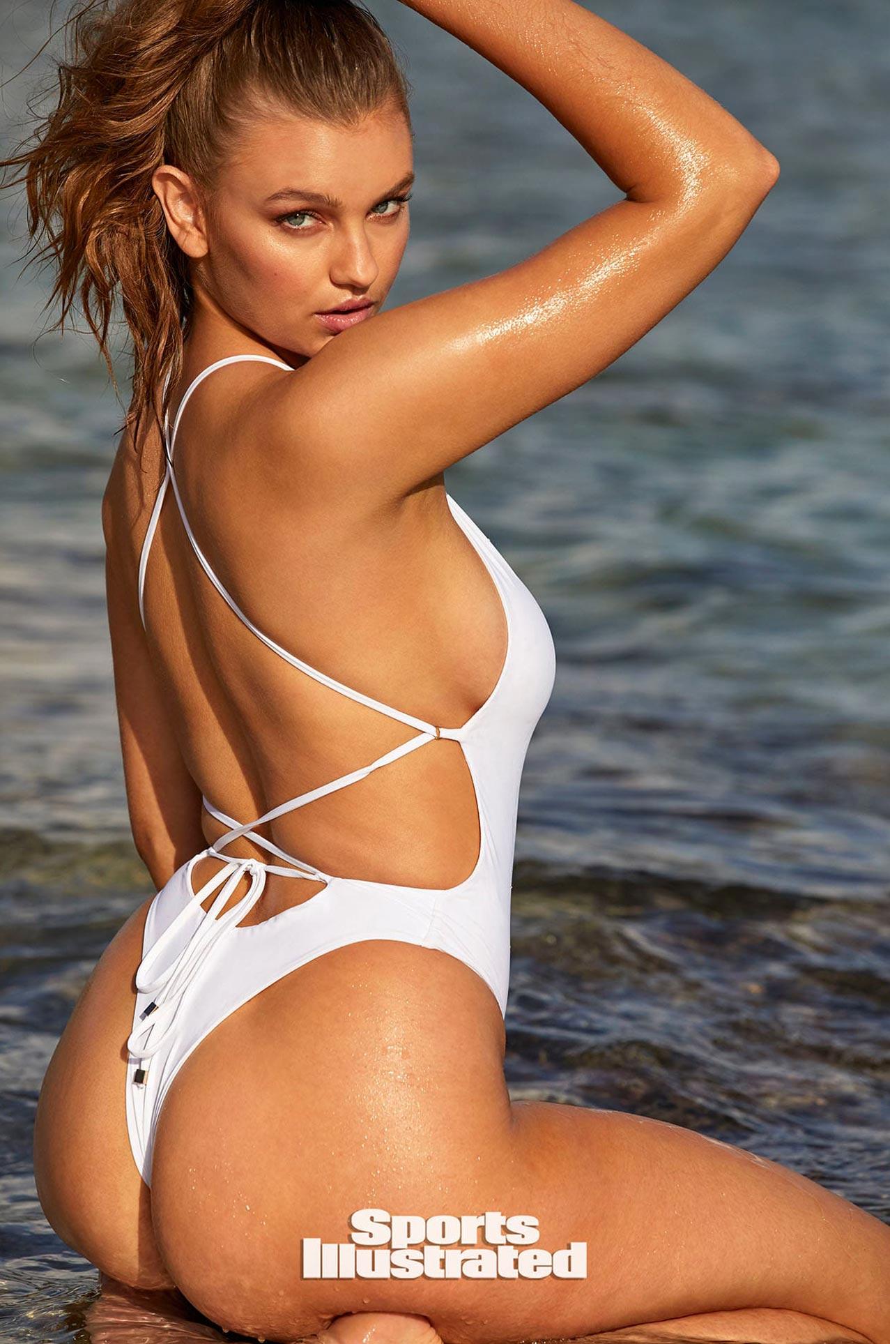 Оливия Брауэр в каталоге купальников Sports Illustrated Swimsuit 2020 / фото 21