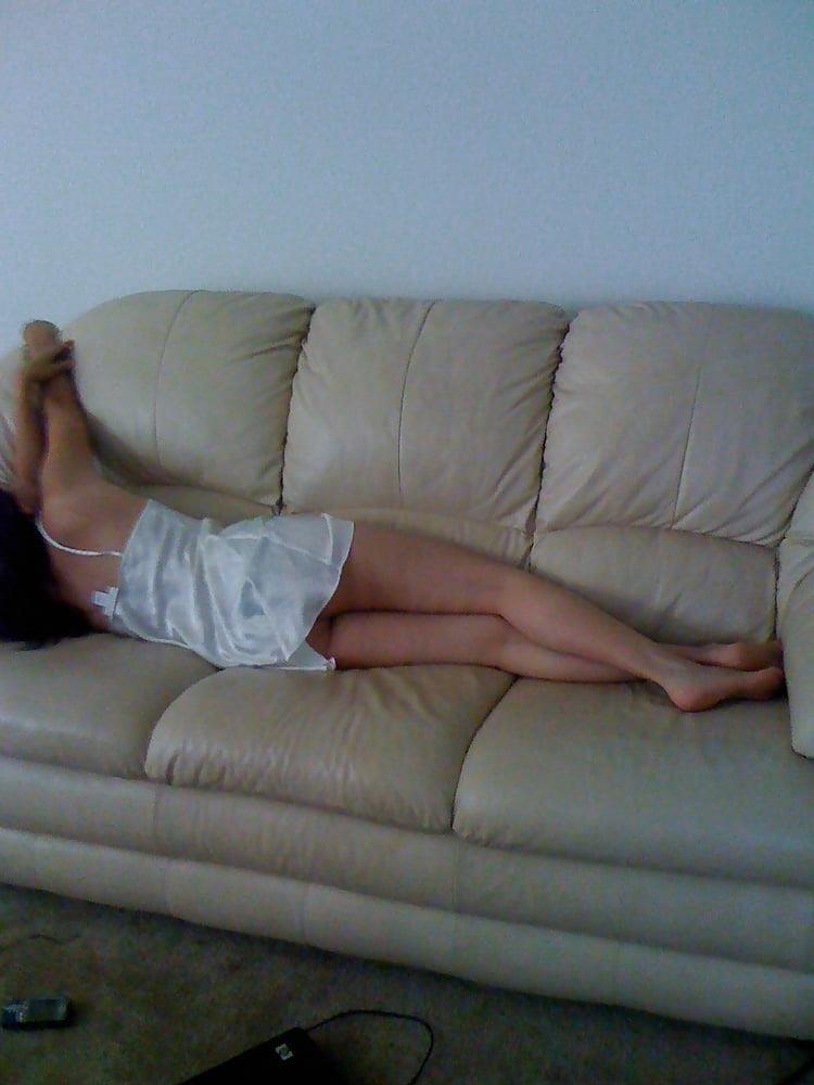 Wife asleep naked-5928