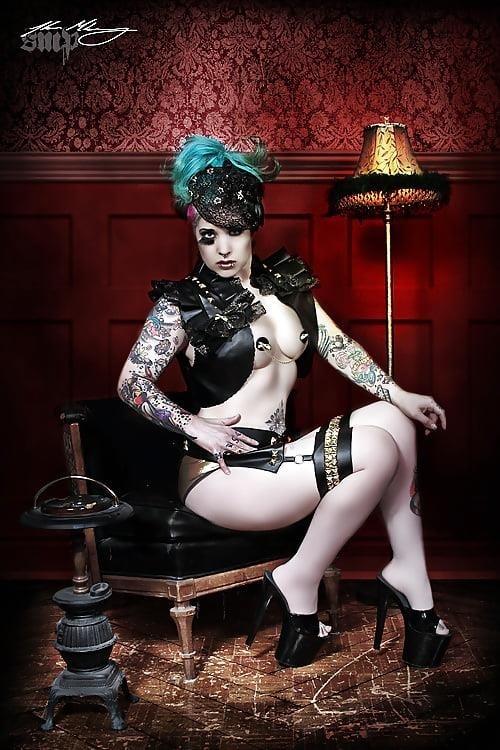 Steampunk hats female-9644