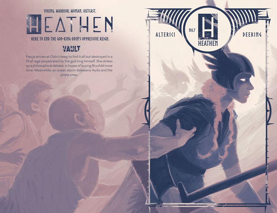Heathen #1-8 (2017-2019)