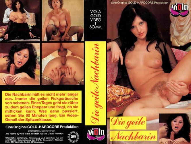 Die Geile Nachbarin / Возбуждённая соседка (Viola Film / ZBF) [1980s, Classic, All Sex, Facial, VHSRip]