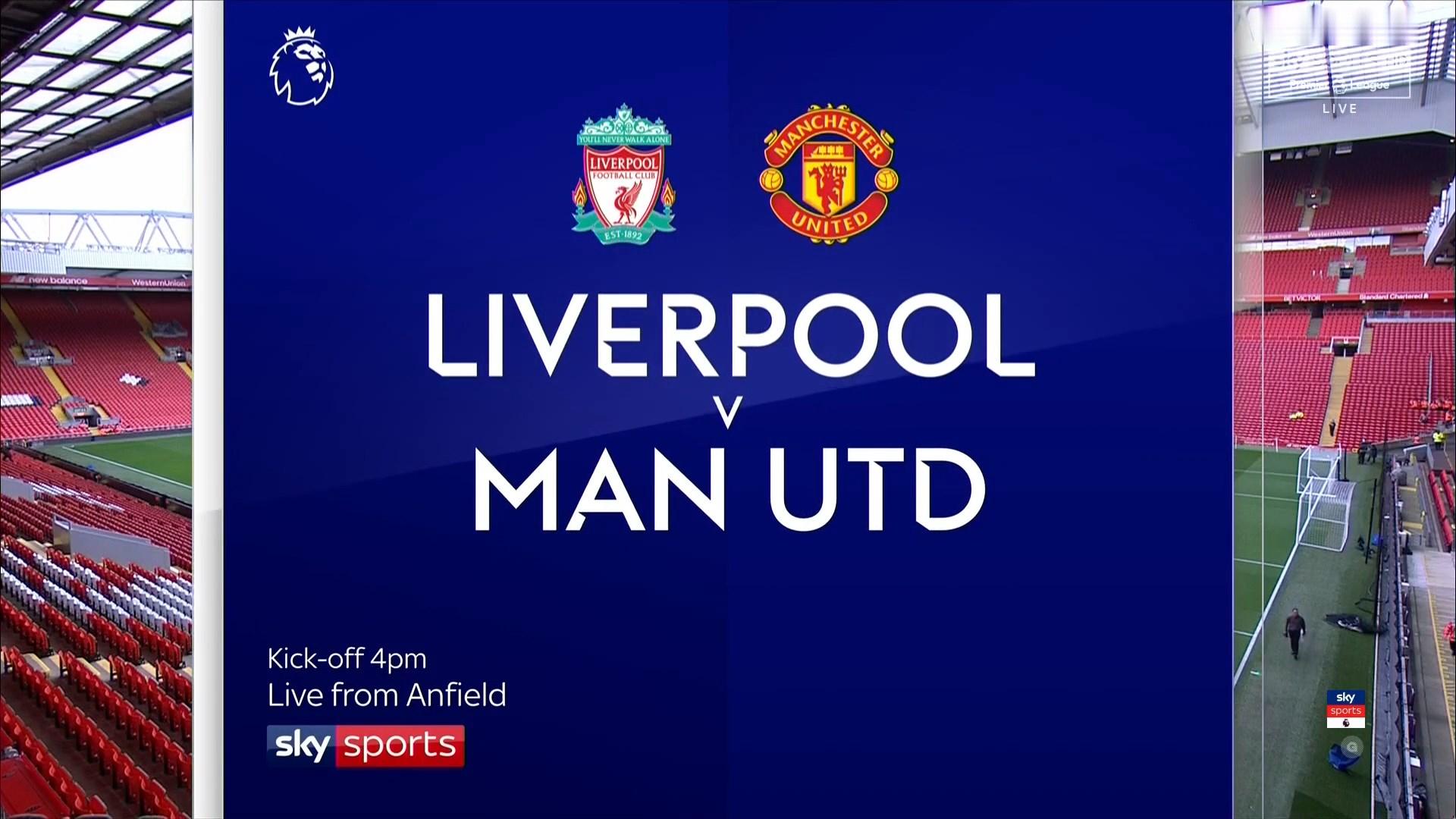 Xem lại: Liverpool vs Manchester United