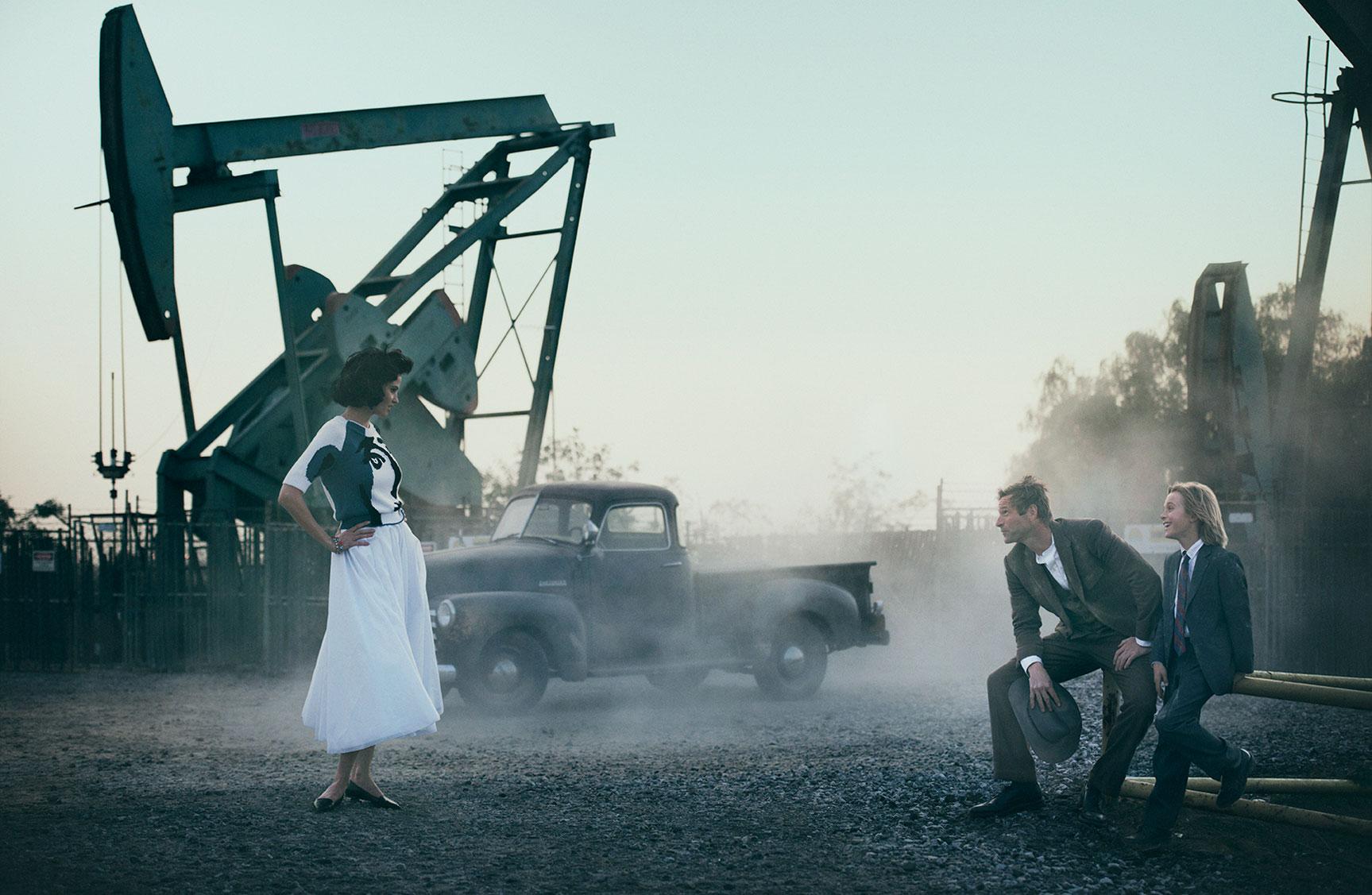 История любви / Лара Стоун и Аарон Экхарт / фото 01