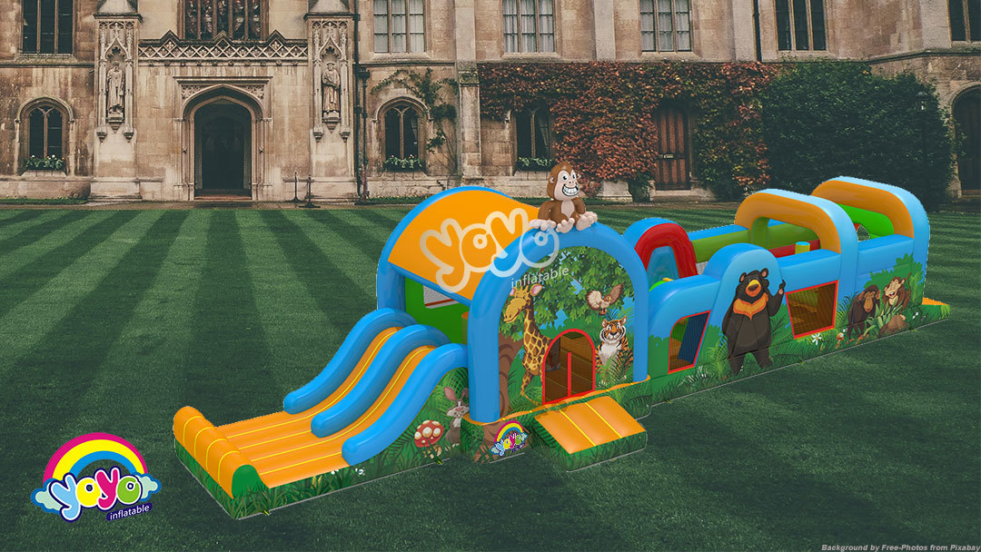 Yoyo Inflatable Manufacturers Quality and Beautifully-Designed inflatable obstacle course Meant to Add Fun and Excitement to Any Social Gathering or in any Celebration Venues