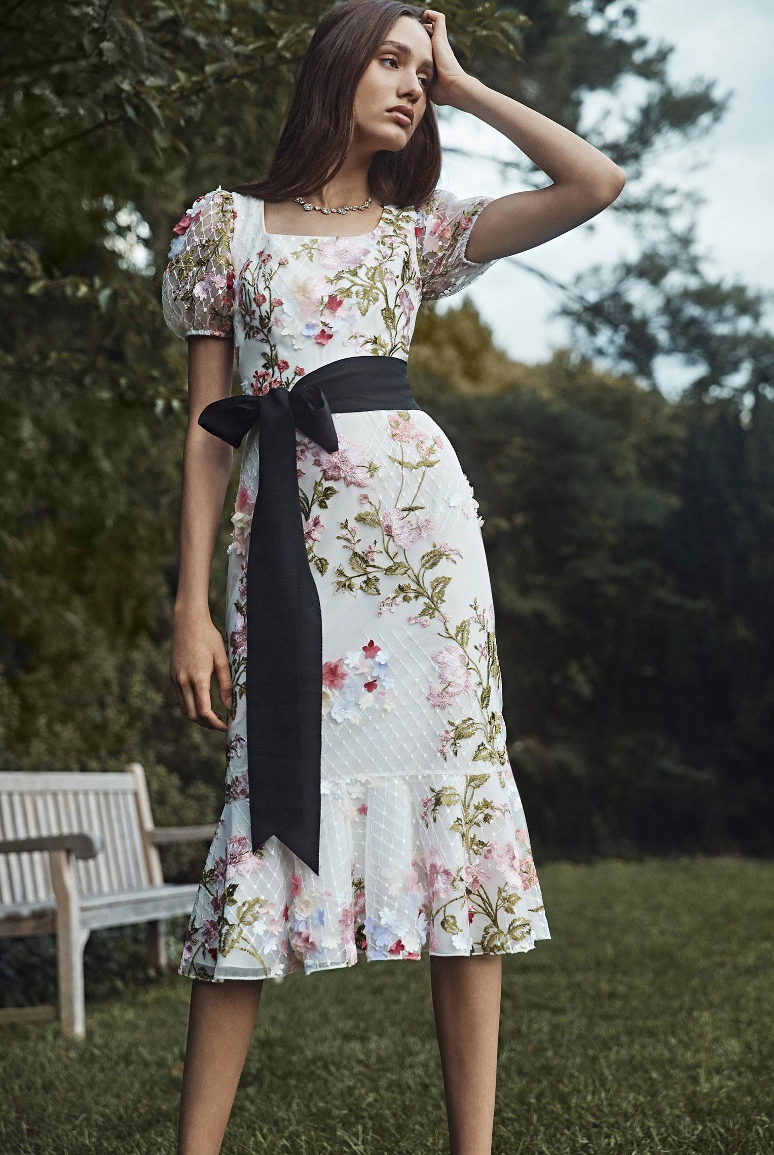 Коллекция модной одежды Marchesa, сезон весна-лето 2020 / фото 14