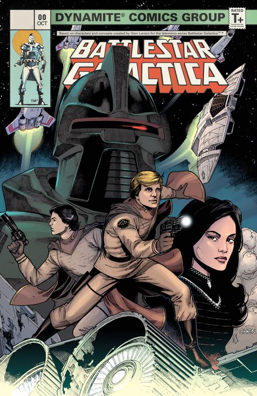 Classic Battlestar Galactica Vol.1 #0-5 (2006-2018) Complete