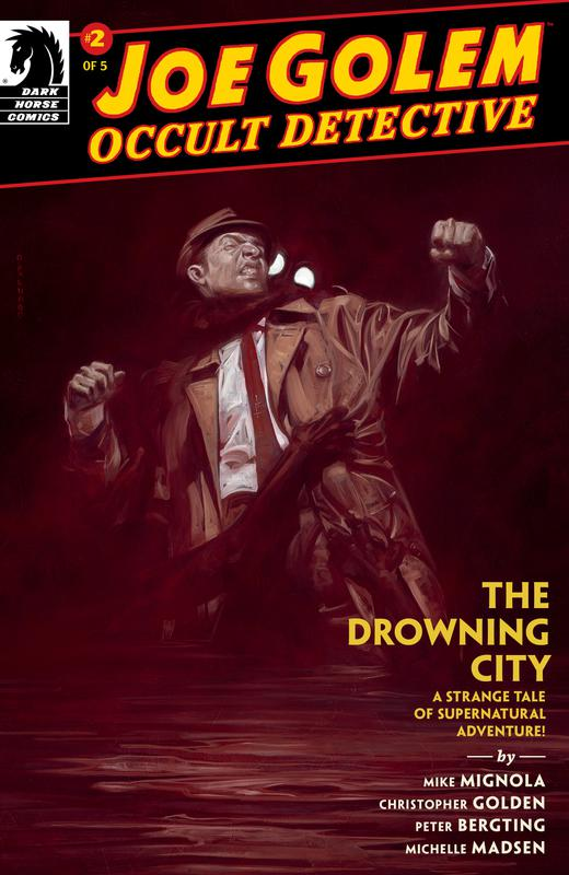 Joe Golem - The Drowning City #1-4 (2018)