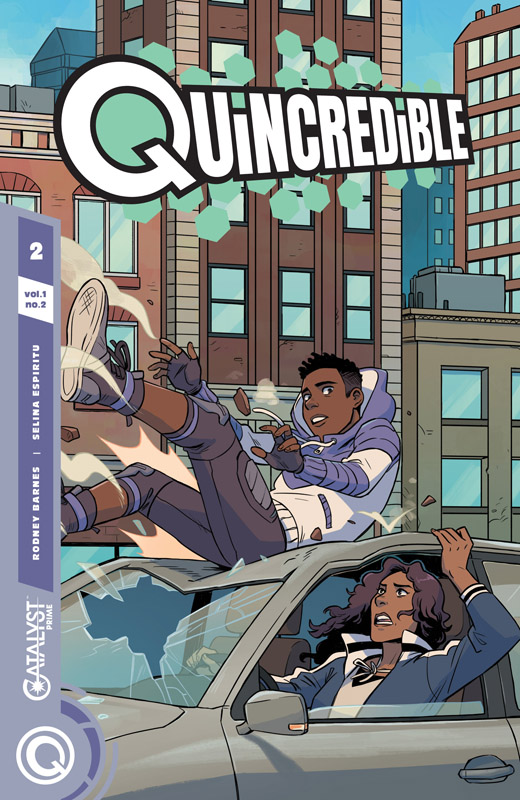 Catalyst Prime - Quincredible #1-2 (2018)
