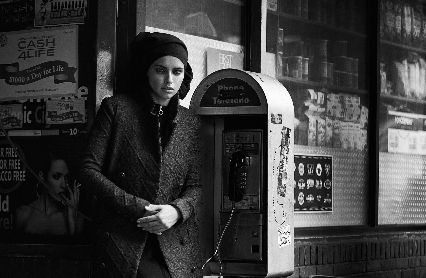 Прогулка по Бруклину с Адрианой Лимой / фото 07