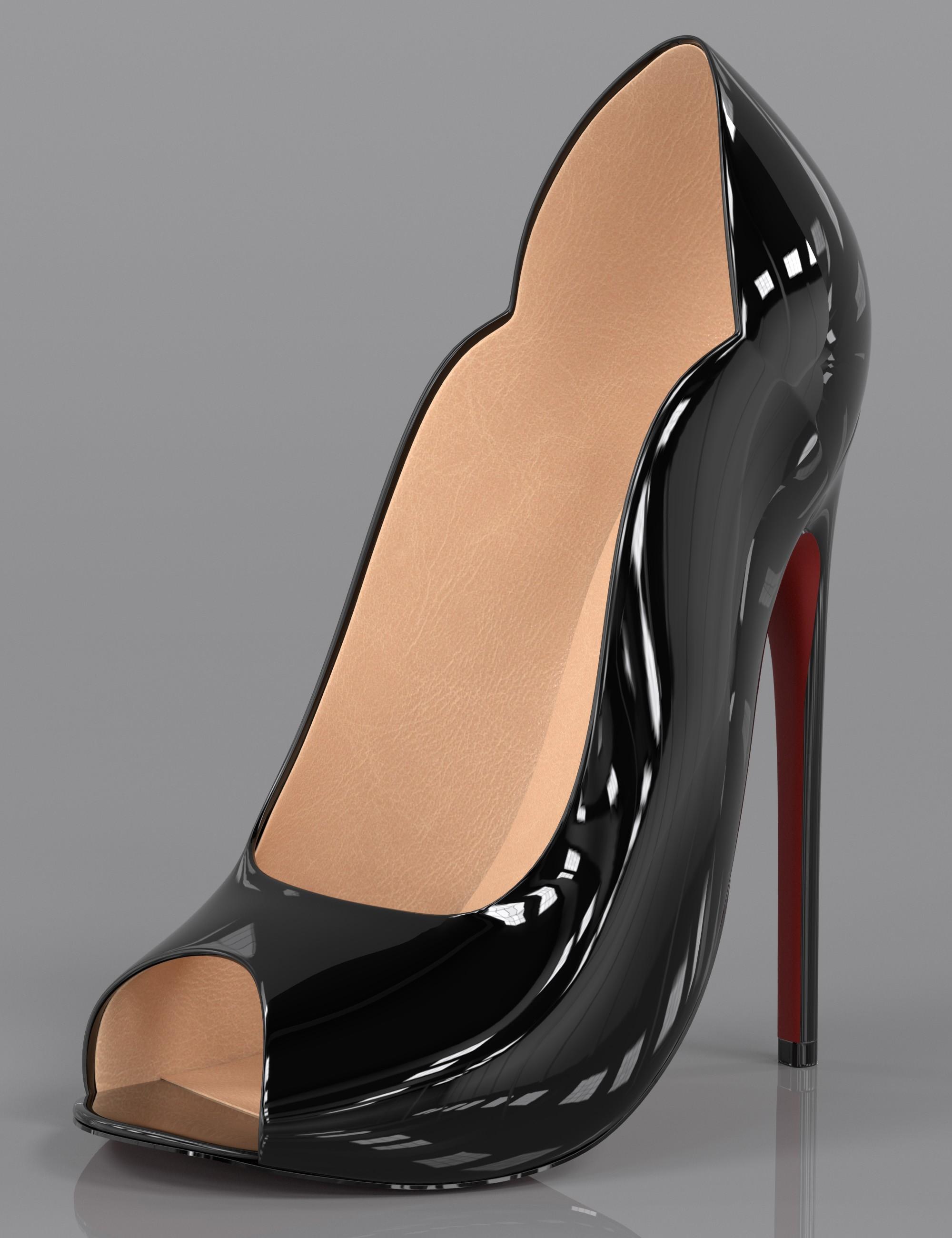 Lux High Heels for Genesis 3 and Genesis 8 Female(s)