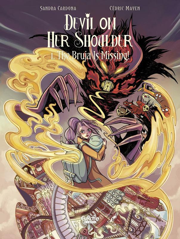 Devil on Her Shoulder 001 - The Bruja Is Missing! (2021)