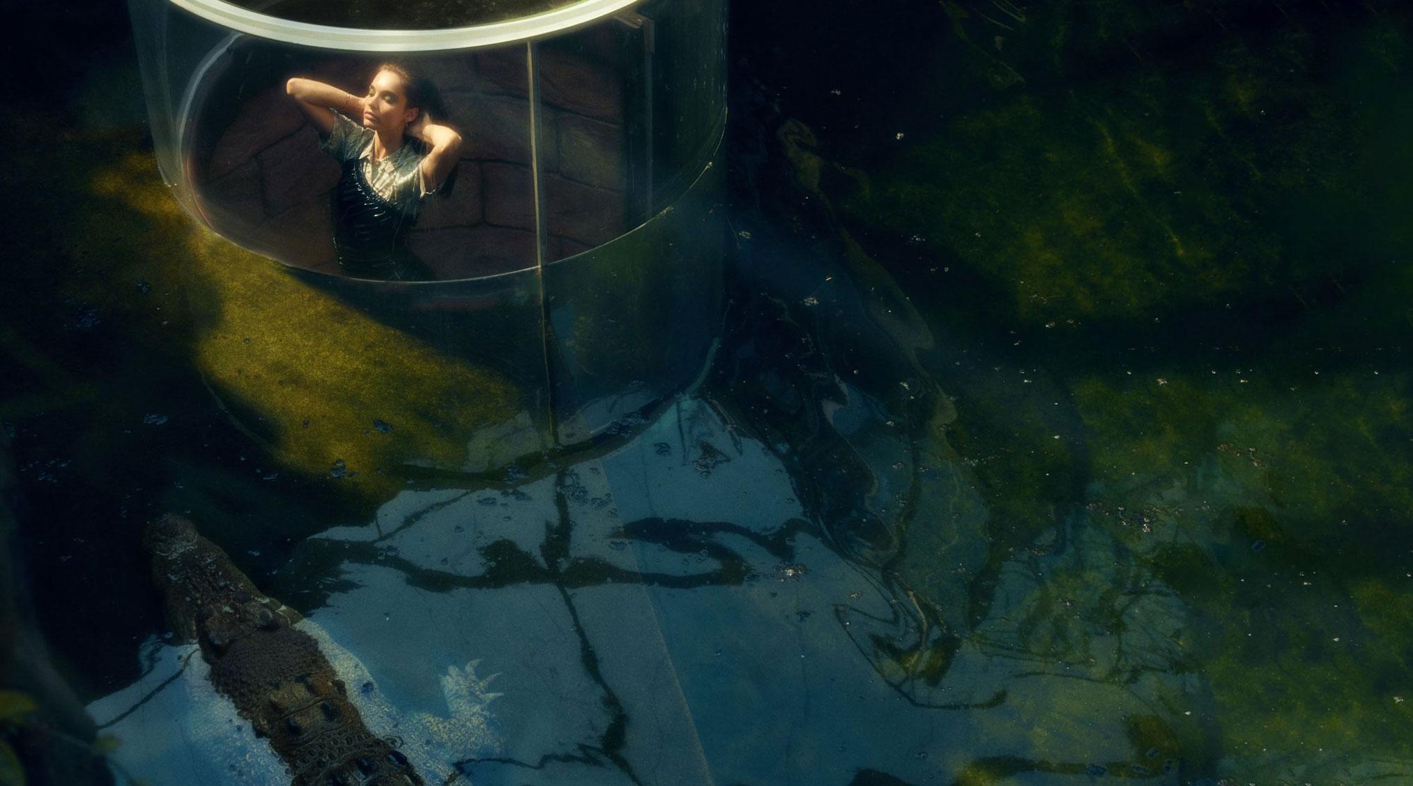Мерел Бартен в сиднейском зоопарке / фото 06