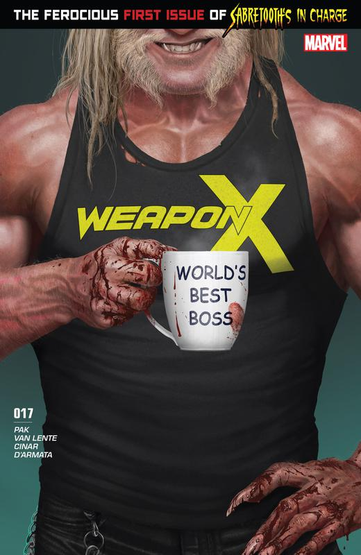 Weapon X Vol.3 #1-25 (2017-2018)