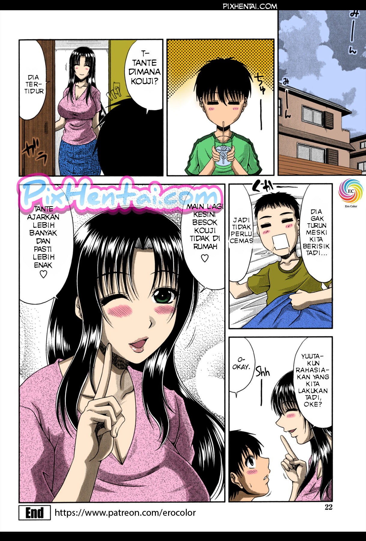 Komik Hentai Mandi dengan Ibunya Teman yang Bohai Manga Sex Porn Doujin XXX Bokep 21