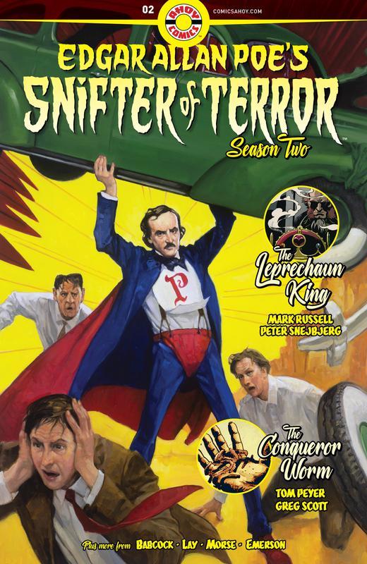 Edgar Allan Poe's Snifter of Terror Season 2 #1-6 (2019-2020) Complete