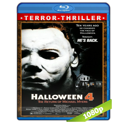 descargar Halloween 4 [1988][BD-Rip][1080p][Trial Lat-Cas-Ing][Terror] gratis