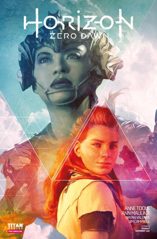 Horizon Zero Dawn #0-3 (2020)