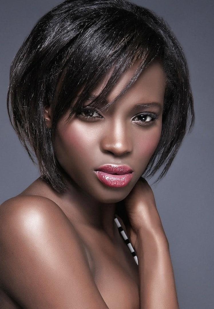 Black little girl short hairstyles-7393