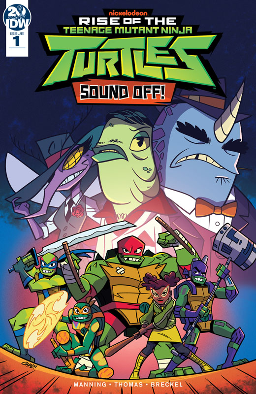 Rise of the Teenage Mutant Ninja Turtles - Sound Off! 001 (2019)