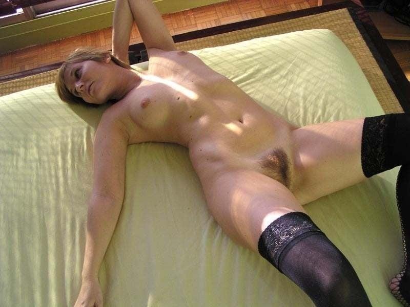 Short blonde hair nude-2684