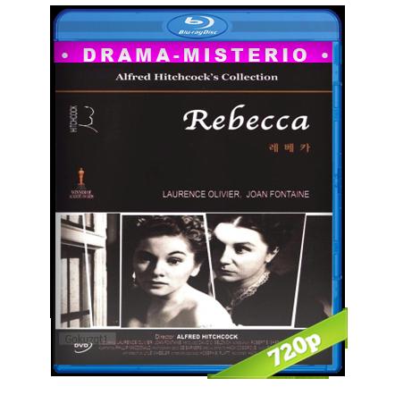 descargar Rebeca Una Mujer Inolvidable [1940][BD-Rip][720p][Dual Cas-Ing][Misterio] gratis