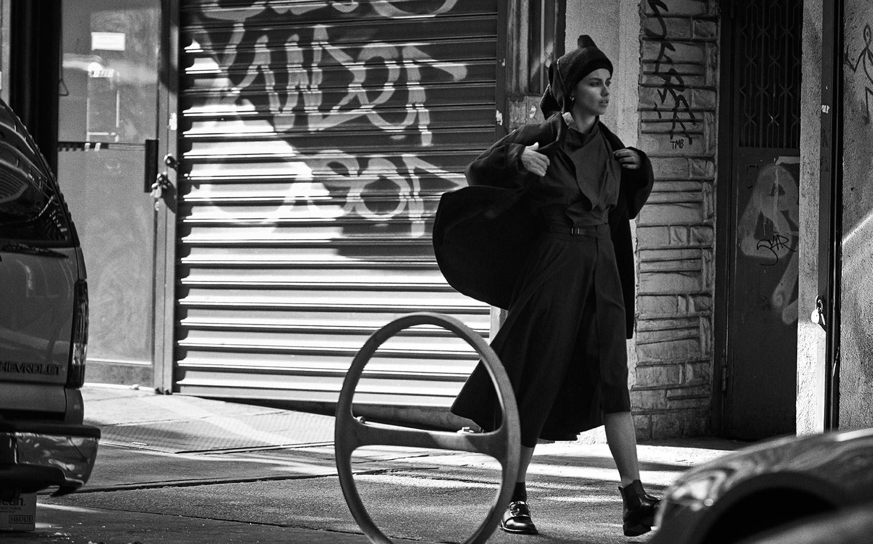 Прогулка по Бруклину с Адрианой Лимой / фото 12