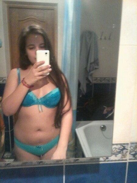 Hot girls taking nude selfies-7715