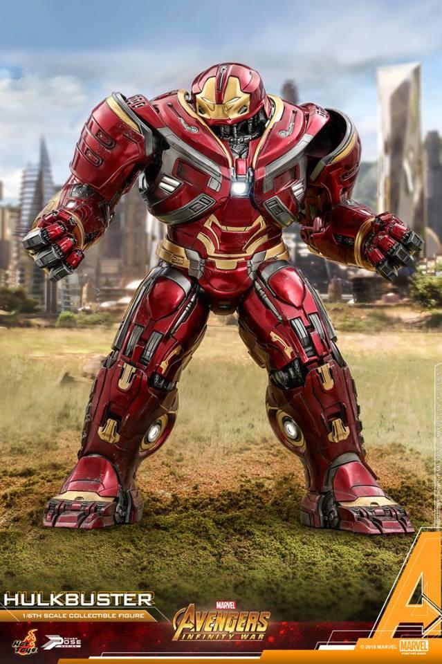 Avengers Infinity War - HulkBuster Mark 2 1/6 (Hot Toys) ENUEeLC5_o