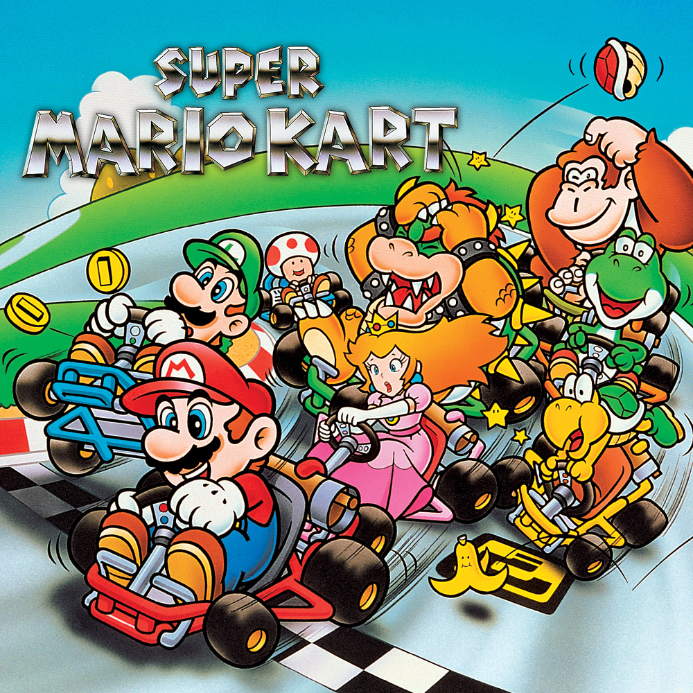 Super Mario Kart (USA) Retro PC Oyunu Oyna