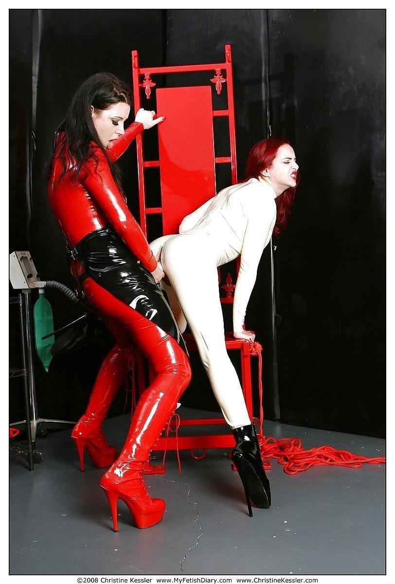Lesbian medical bondage-2154