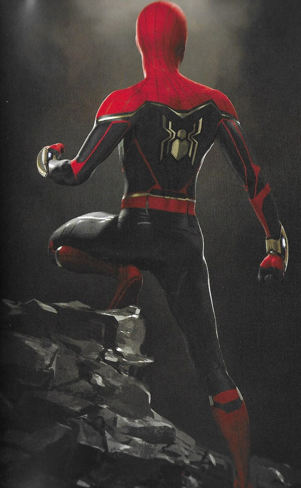 Spider Man Far From Home Upgraded Suit Concept Art